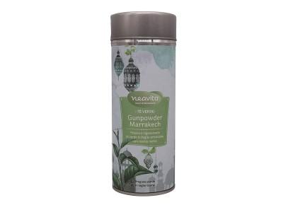 Tè verde Gunpowder marrakech Silver tin